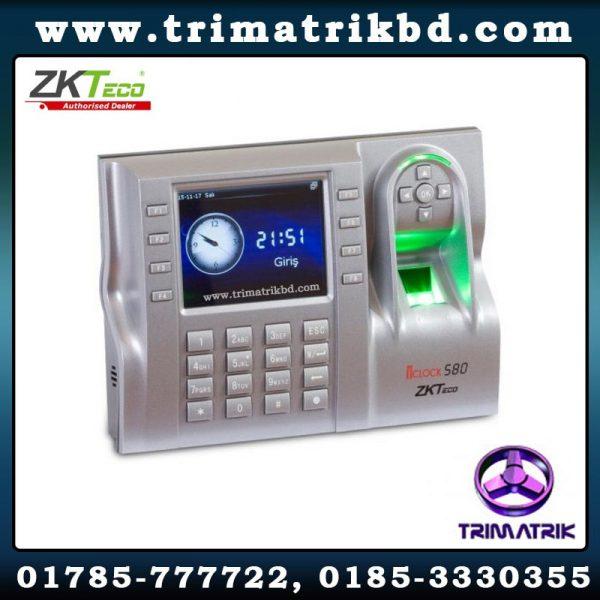 ZKTeco iClock580 Bangladesh, ZKTeco Bangladesh, Trimatrik