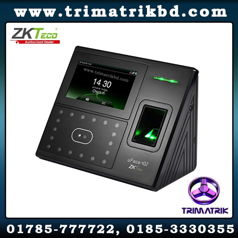 ZKTeco uFace402 Bangladesh, ZKTeco Bangladesh, Trimatrik