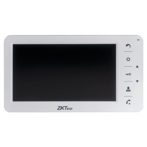 ZKTeco VDPO2+VDPI- 7 Inch Indoor Video Door Phone System