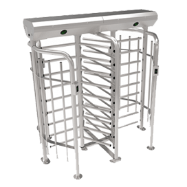 ZKTeco FHT-2311 Full Height Turnstile with RFID Access Control System