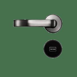 ZKTeco GL-300 Split Design Hotel Door Lock with EU standard mortise