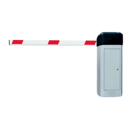 ZKTeco PAC-100 POLE FOR PARKING BARRIER WITH FR 1200 FINGER & RFID EXIT READER
