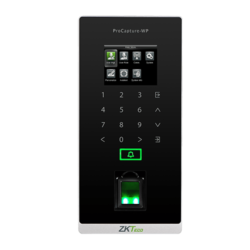ZKTeco ProCapture- WP Fingerprint Standalone Access Control and Time Attendance