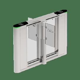 ZKTeco SBTL-8000 Indoor speed Gate Series Which Featured By Its Modular Reader Panel Design