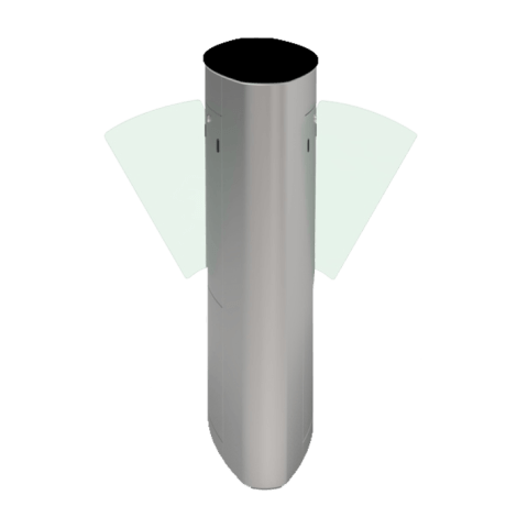 ZKTeco FBL5222 Pro Flap Barrier Turnstile for additional Lane; ZKTeco Bangladesh