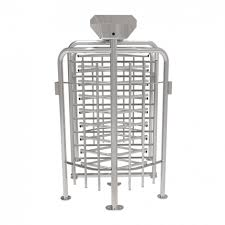 ZKTeco FHT2322D Full Height Turnstile with Fingerprint and RFID Access Control System