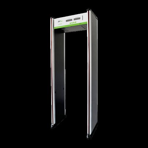 ZKTeco ZK-D1065S Walk Through Metal Detector; 6 Zones