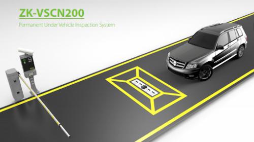 ZKTeco ZK-VSCN200 Permanent Under Vehicle Inspection System