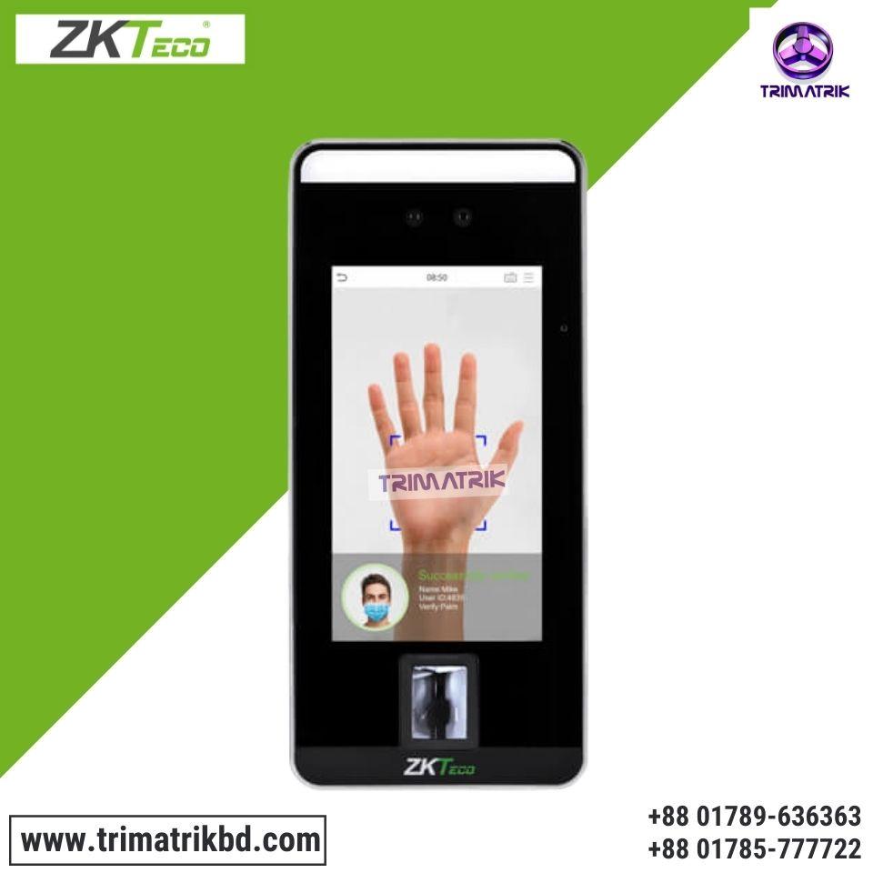 ZKTeco SpeedFace-V5L [P] Touchless Recognition Terminal Best Price in Bangladesh TRIMATRIK